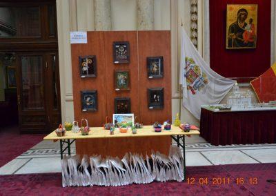 Expozitie icoane la Palatul Patriarhiei