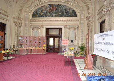 Expozitie de icoane la Palatul Patriarhiei, 2011