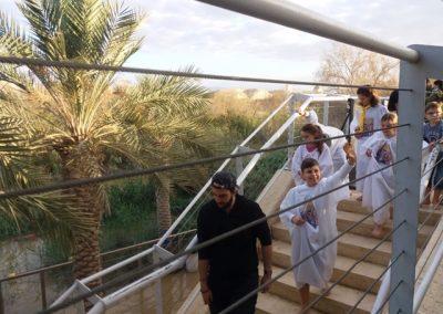 Botez copii in Iordan